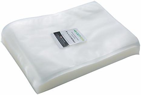 GERYON Vacuum Sealer Bags Pre Cut Food Sealer Bags Quart Size 8 x12 for Food Saver Sous Vide product image