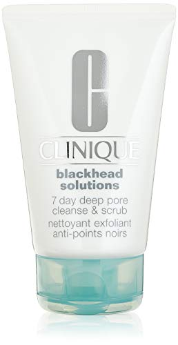 Clinique Blackhead Solutions 7 Day Deep Pore Cleanse & Scrub Gesichtspeeling, 125 g