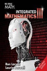 Big Ideas Math Integrated Mathematics III