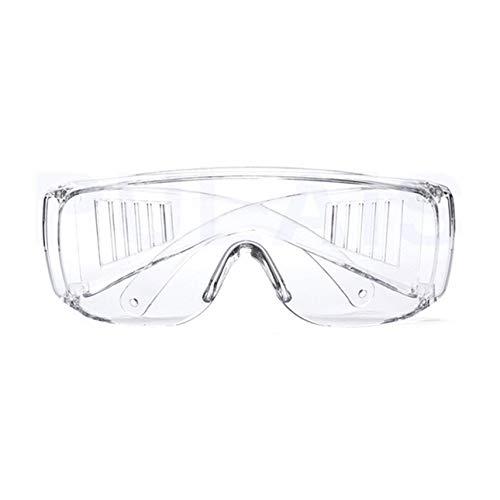 Ba30DEllylelly Gafas de Seguridad Protección Ocular de Laboratorio Gafas Protectoras médicas Lentes Transparentes Gafas de Seguridad en el Lugar de Trabajo Suministros Antipolvo
