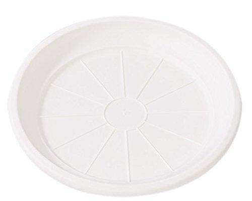 Hobby & Style 5775.0 Soucoupe pour Pot rotin, Blanc, 36 x 36 x 5 cm