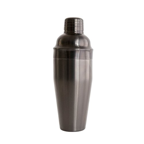 Stainless Steel Cocktail Shaker | Professional 3 Piece Bartender Shaking...