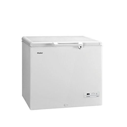 Haier HCE259R, Congelatore a pozzetto, 259 Litri, Classe energetica A+