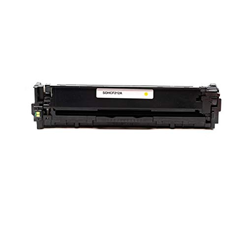 USA Advantage Compatible Toner Cartridge Replacement for HP 131A / CF212A (Yellow,1 Pack) Photo #4