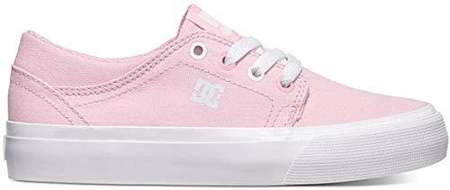 DC Shoes Trase TX, Zapatillas de Skateboard para Niñas