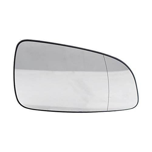 KKmoon - Specchietto retrovisore esterno destro in vetro Glass13141984 6428785 in sostituzione per OP-EL A-STRA H 2004-2008