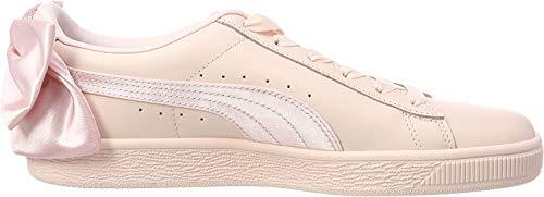 Puma Basket Bow Wn's, Zapatillas para Mujer, Rose Pãle, 40 EU