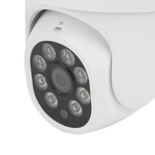 Liujaos Cámara de Monitor, cámara WiFi de visión Nocturna con Control Remoto de teléfono 1080P, IP66 para monitoreo de Seguridad Sistema de Seguridad Monitor de intercomunicación por Voz(Transl)