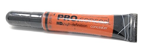 L.A. Girl Pro Coneal Hd. High Definiton Concealer, 990 Orange, Small, 0.25 Ounce