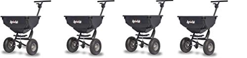 Why Choose Agri-Fab 45-0531 85-lb 85 lb Deluxe Push Spreader, Black (Pack of 4)