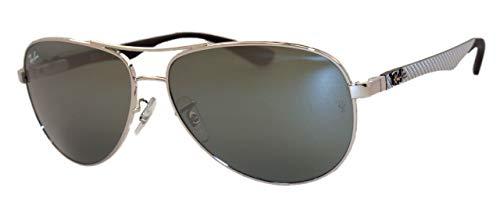 Ray-Ban Unisex-Erwachsene Sonnenbrillen CARBON FIBRE RB 8313, 003/40, 58