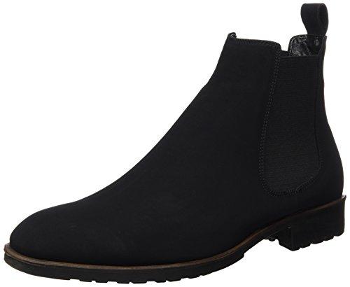 Tamboga Herren 253-N Chelsea Boots, Schwarz (Black 01), 43 EU