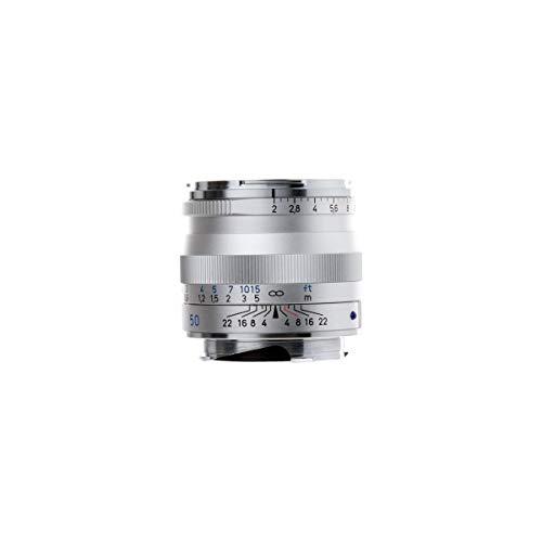ZEISS Ikon Plannar T* ZM 2/50 Standard-Kameraobjektiv für Leica M-Mount Entfernungsmesser Kameras