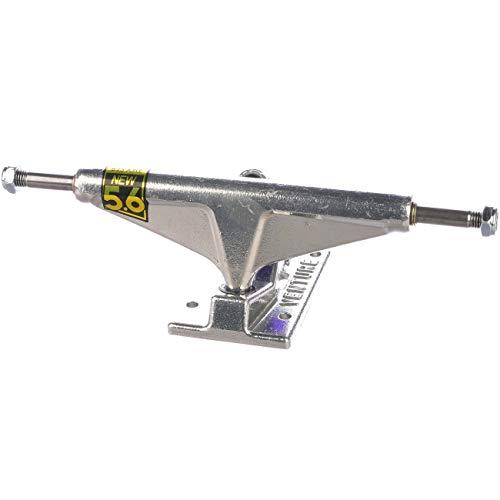 Venture Polished Skateboard Trucks - 5.6 Hi - Set of 2 (5.6(8.25 Axle))