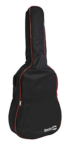 Rockjam Imbottito Sacchetto della Chitarra Acustica con Manico e Tracolla