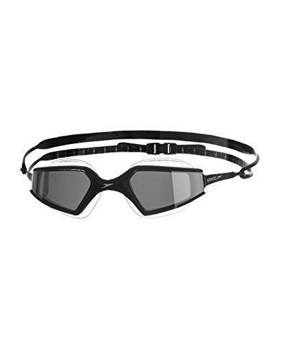 Speedo Aquapulse Max Mir AU Occhialino Adulto, Black/Silver