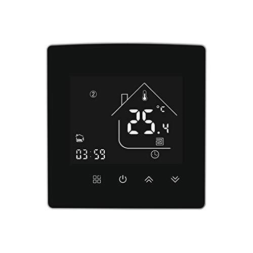 Controlador de Temperatura Inteligente Termostato Pantalla táctil Interruptor de Control de Temperatura Inteligente Inicio Intelligent Life Hotel Herramienta de Control de Temperatura multifunc