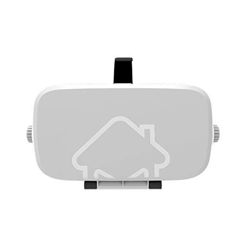 HYLMM VR-Headset mit Fernbedienung, Virtual Reality Headset für Android 11,9 - 15,7 cm (4,7 - 6,2 Zoll), 360 Filme mit weichen Android-Smartphones, bequem
