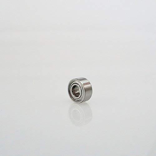Radial Edelstahl 440C Kugellager 4 x 9 x 4 mm geschlossen partCore S684ZZ 180065