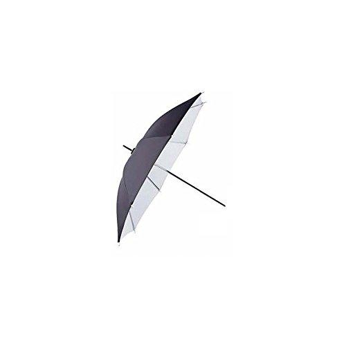 Falcon Eyes UR-32WB 80 cm Paraplu - Wit/Zwart