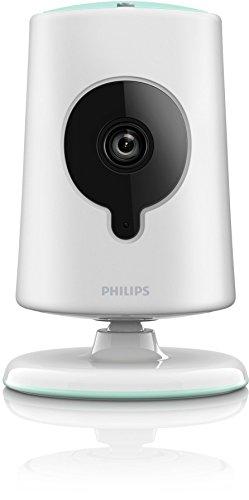 Philips b120N/10Wi-Fi weiß Baby für Videoüberwachung–Baby Video Monitor (2x, 1280x 720Pixel, Auto, Auto, 30fps, 2,8mm)