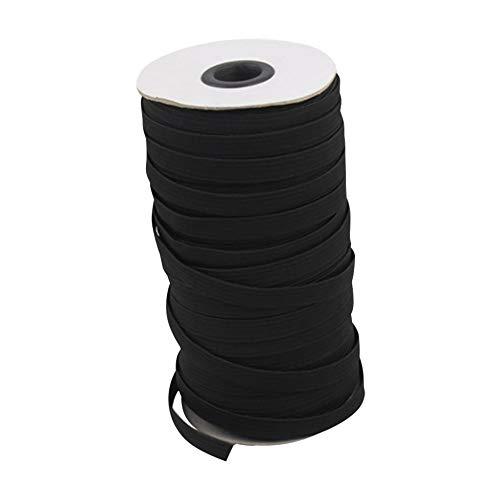 Deirdre Agnes Wegwerpmateriaal touw elastisch touw oorhaak riem 3 mm breed en 100 m lang kleding naaien elastische band 100m