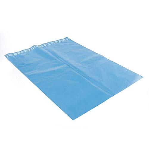 Hangerworld 10 Strapazierfähige 350 x 500mm Große Kunststoff Versandhüllen Versandtaschen Blau