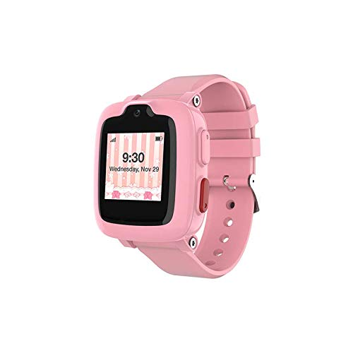 Oaxis myFirst Fone Kids Smartwatch Phone GPS Video Call Touchscreen 2MP Camera SOS Alarm Fitness Trackers Cellphone Watches for Girls Boys (Canada Mexico) - Improved Version - for US Only AT&T