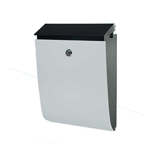 Inductie prullenbak kan E-mail post office box muur gemonteerde metalen brievenbussen, krant dozen, outdoor waterdichte decoratieve muur gemonteerde brievenbus krant rekken Huishoudelijke decoratieve opslag emmer