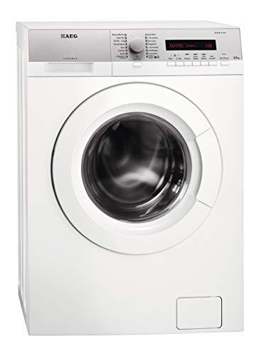 AEG L76275SL Waschmaschine Frontlader / freistehende Waschmaschine mit 6,5 kg ProTex Schontrommel / Energieklasse A+++ (151,0 kWh/Jahr) / sparsamer Waschautomat mit Mengenautomatik