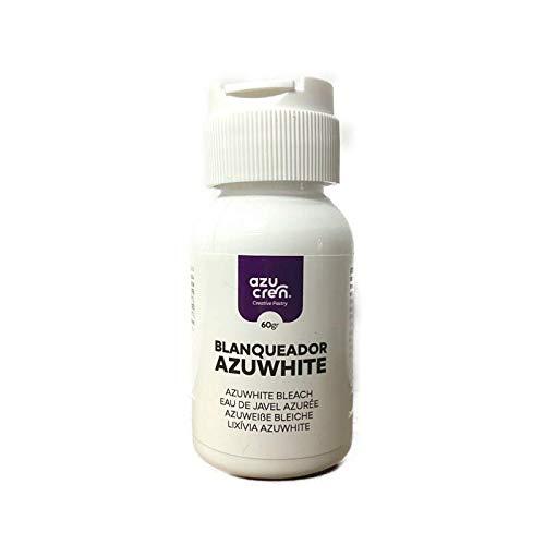 Colorante Alimenticio - Color Blanco - Azuwhite Blanqueador en Gel - 60 Gramos