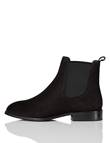 find. Andy-1w4-001 Chelsea Boots, Schwarz, 41 EU