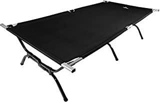 TETON Sports Outfitter XXL Camp Cot; Folding Cot Great for Car Camping (Renewed)