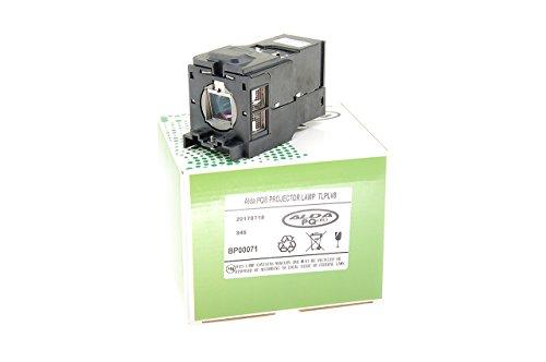 Alda PQ-Premium, beamerlamp/reservelamp compatibel met TLPLV8 voor TOSHIBA TDP-T45, TDP-T45U projectoren, lamp met behuizing