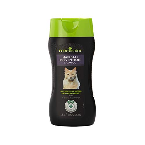 FURminator Hairball Prevention Shampoo deShedding Formula, 8.5-Ounce - 201014