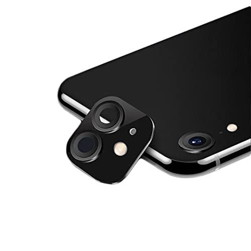 FTYSXP para iPhone XR Segundos Cambiar a iPhone 11 o iPhone 12 Lente Falsa integrada Lente de cámara modificada (para iPhone XR Negro)
