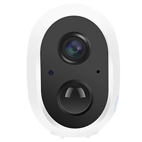 Cámara de vigilancia inalámbrica, con audio bidireccional de 1080P y gran angular de 135 grados IP66 a prueba de agua, cámara WiFi, visión nocturna por infrarrojos