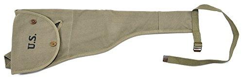 World War Supply M1 Carbine Canvas Paratrooper Jump Case Marked JT&L 1944