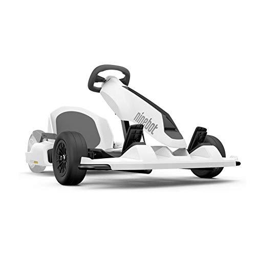 Scooter de Auto Equilibrio deKit de Kart Modificado Ninebot Xiaomi No. 9 Balance Car, diseño Mejorado con suspensión Debajo del Asiento para máxima Comodidad