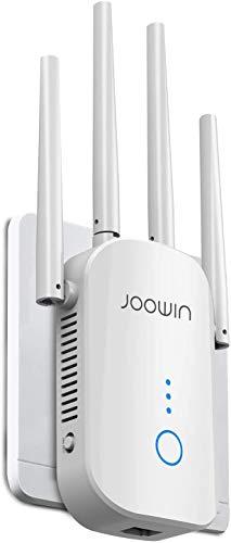 JOOWIN WiFi Repetidor 1200Mbps 2.4GHz y 5GHz Amplificador de Señal de red...