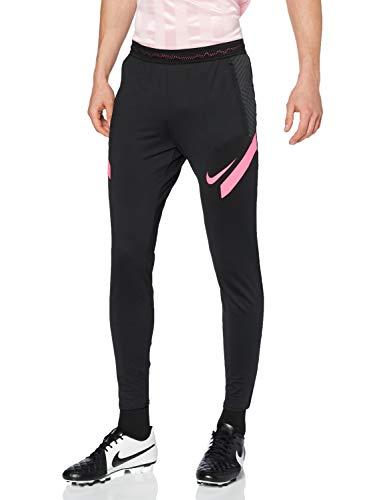 NIKE Dry Strke KP Hose Pantalones para Hombre, Unisex Adulto, Negro/Rosa Hyper Pink, Large