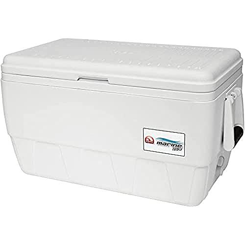 IGLOO Outdoor Marine Ultra 48 Kühlbox, Weiß, 45 Liter