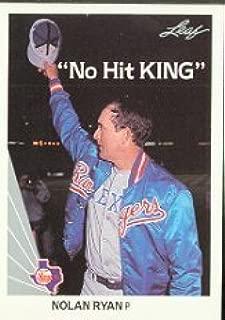 1990 Leaf Baseball Card #265 Nolan Ryan