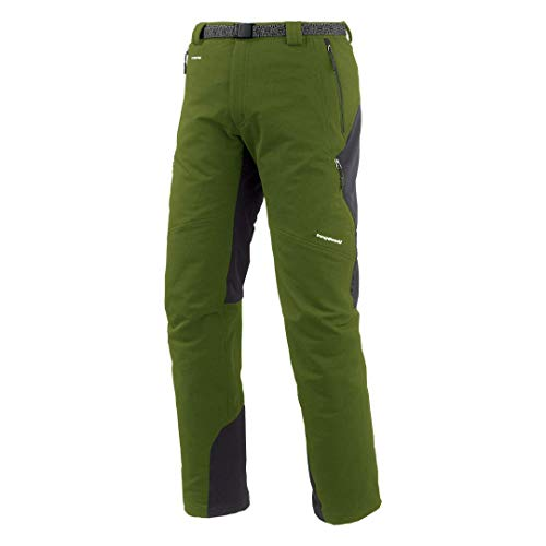 Trango Jorlan Pantalón largo, Hombre, Verde /Gris (5F7 -Verde Cala/Antracita), 2XL