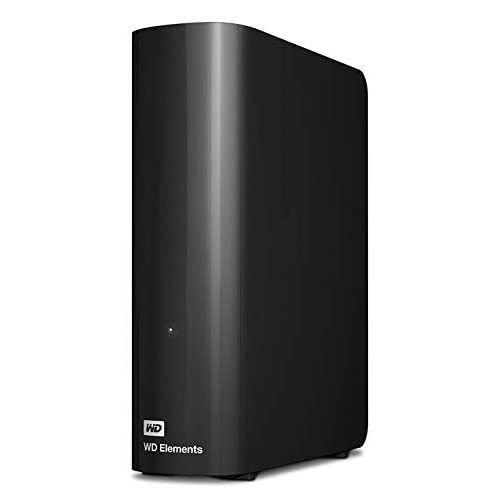 WD 12TB Elements Desktop, Hard Disk Esterno, USB 3.0