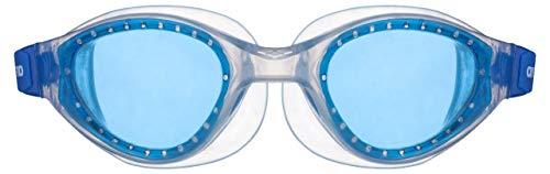 ARENA Jungen Kinder Schwimmbrille Cruiser Evo Junior, Blue-Clear-Clear, one Size