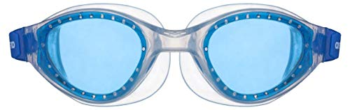 ARENA Unisex Jugend Kinder Schwimmbrille Cruiser Evo Junior, Blue-Clear-Clear, one Size