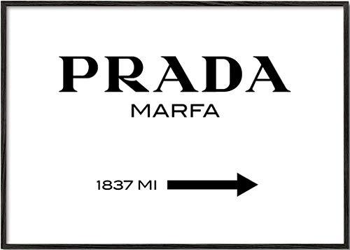 Artesta Lámina con Marco Prada Marfa (30x40 cm)