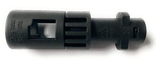"""Adapter für Aquatak, für AQT, für Bosch auf Kärcher K, für Lavor Kew Nilfisk Alto, 126411396, Bajonett-Adapter 1/4\"""" IG, Home & Garden Hochdruckreiniger K2 bis K7 Bajonett Adapter Lanzen M22 x 1,5 IG"""