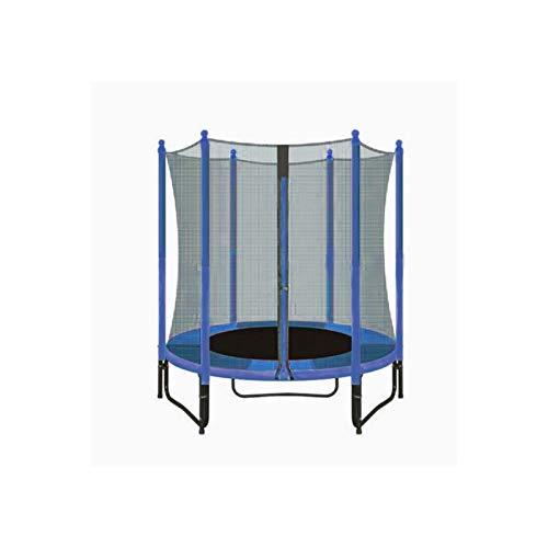 ATAA Cama elástica Infantil 140 Plus - Azul Trampolín Ideal para niños con una Zona de Salto de 140 centímetros, Red de Seguridad y Almohadillas de protección.